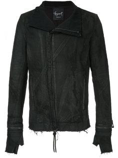 джинсовая куртка moto Fagassent