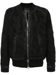 джинсовая куртка на молнии Fagassent