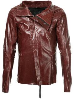 куртка с диагональной застежкой-молнией Fagassent