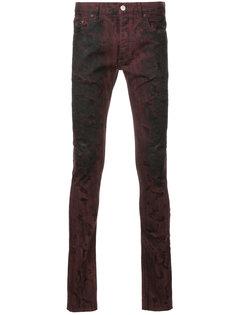 джинсы скинни с потертой отделкой Fagassent