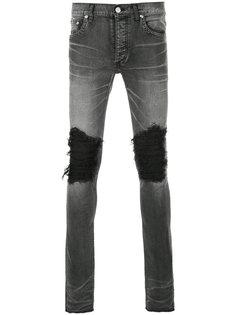 джинсы скинни с рваной отделкой Fagassent
