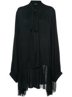 платье-рубашка свободного кроя Ann Demeulemeester