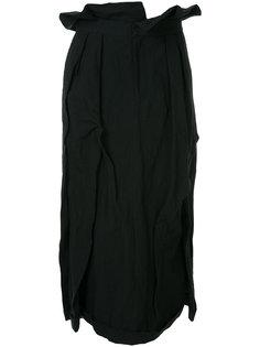 длинная юбка со складками Aganovich