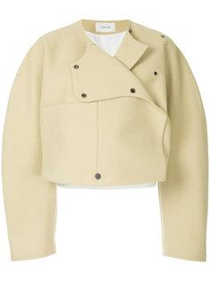 укороченная куртка с запахом Lemaire