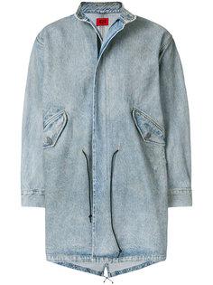 джинсовое пальто на молнии 424 Fairfax