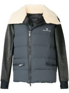 стеганая куртка с контрастными рукавами Undercover