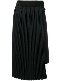 юбка с плиссированной панелью Loewe