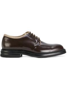 ботинки Дерби с контрастной окантовкой Weber Hodel Feder