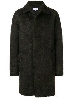 трикотажное пальто на пуговицах Soulland