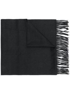 шарф с вышивкой Neil Barrett