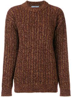 свитер в рубчик Prada