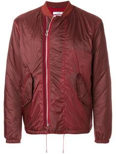 куртка-бомбер  со смещенной застежкой-молнией Oamc