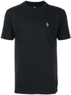 футболка с принтом-логотипом The Silted Company