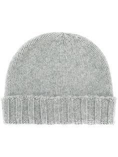 шапка вязки косичкой Drumohr