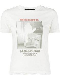 футболка Missing print Ksubi