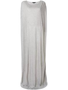 длинное платье-кокон Unconditional
