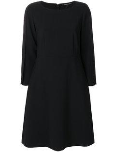 платье-шифт с круглым вырезом Luisa Cerano