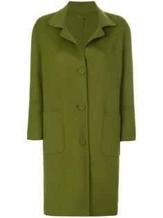 однобортное пальто Luisa Cerano