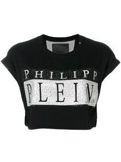 укороченная футболка Plein Philipp Plein