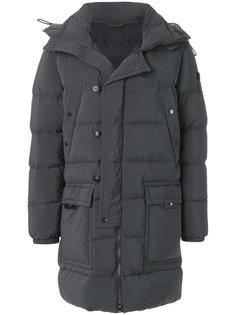 удлиненное стеганое пальто Peuterey