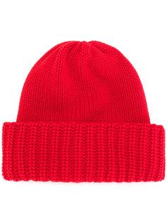 ребристая вязаная шапка Laneus