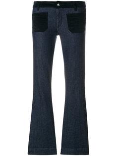 укороченные джинсы клеш  The Seafarer