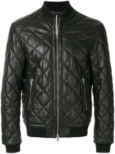 стеганая куртка-бомбер  Low Brand