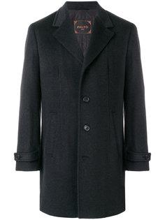 классическое однобортное пальто Paltò