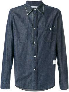 джинсовая рубашка на пуговицах The Editor