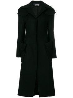 однобортное пальто  Jacquemus