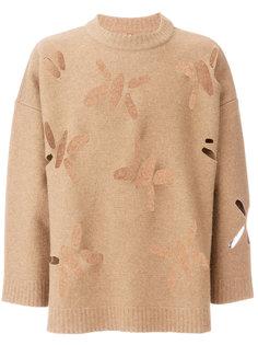 свитер с вырезными деталями Oamc