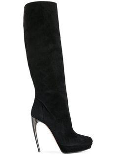ботинки Horn Heel Alexander McQueen