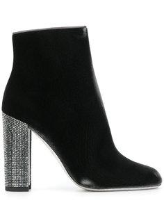 декорированные ботинки на каблуке René Caovilla