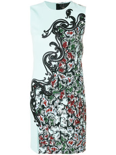 embroidered shift dress Versace