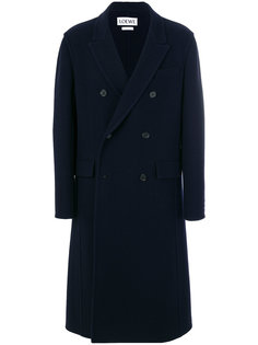 двубортное пальто Loewe