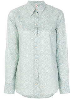 приталенная рубашка с вышивкой Ines De La Fressange