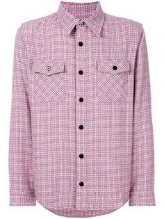 фланелевая рубашка в клетку Visvim