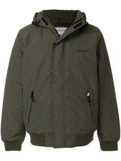 куртка с капюшоном и потайной застежкой Carhartt