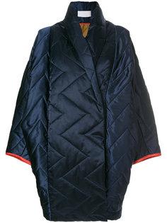 объемное стеганое пальто Reality Studio