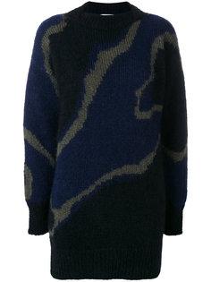 объемный свитер с узором Wunderkind