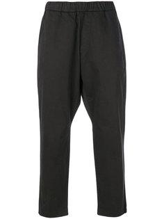 брюки с заниженной проймой Barena