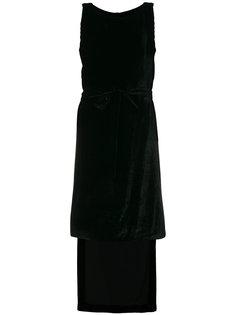 платье с драпировкой Gareth Pugh