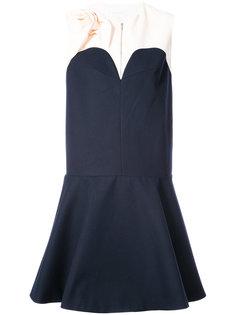 расклешенное платье Delpozo