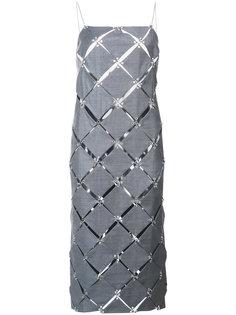платье Diamond на бретельках Paco Rabanne
