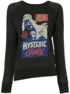 рубашка с принтом Hysteric Glamour