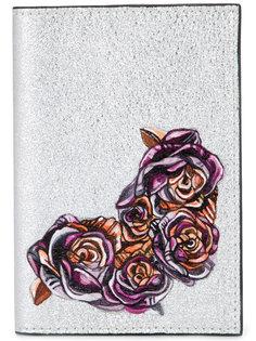 кошелек с цветочным принтом Demanumea
