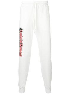 спортивные брюки с принтом-логотипом Hysteric Glamour