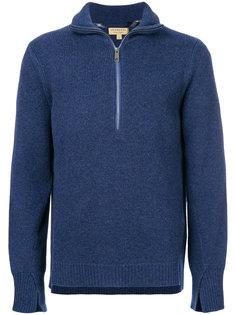 свитер с горловиной на молнии Burberry