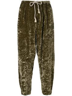 бархатные брюки  Forte Forte