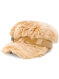 плоская кепка из овечьей шерсти Miu Miu
